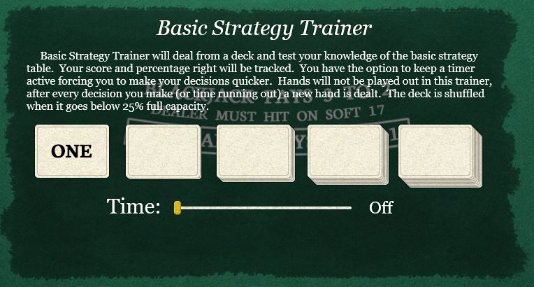 Free Basic Strategy Trainer App