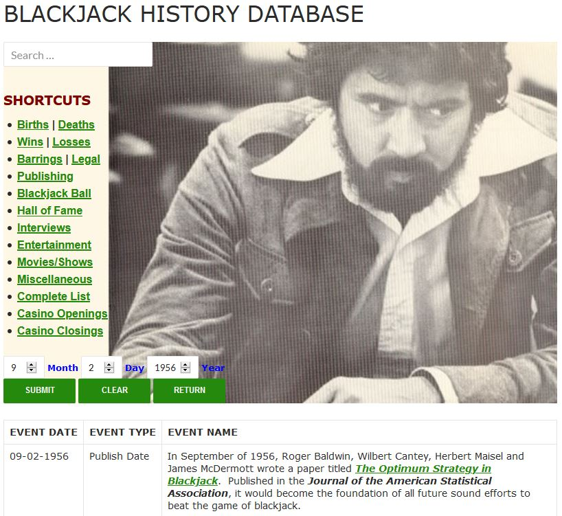 Blackjack History Database Tool