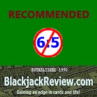 Recommended by the Blackjack Review