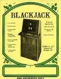 Vintage Old Electronic Blackjack Game