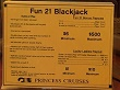 Fun 21 Blackjack Rules
