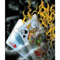 Michael Godard's Burning Blackjack