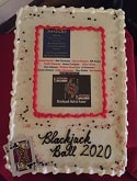 Blackjack Ball 2020 Cake