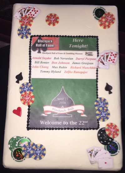 Blackjack Ball 2018 Cake
