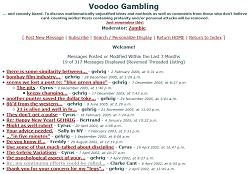 BJRnet.com Voodoo Board