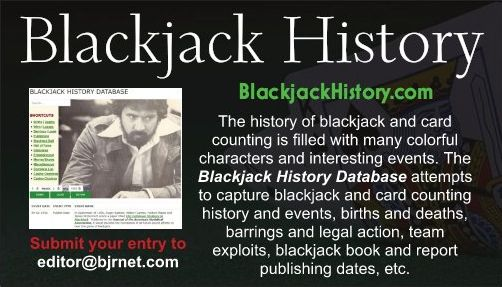 Blackjack History