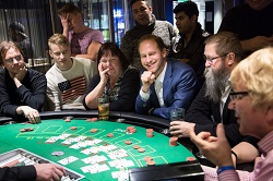 Other Players at Blackjack Table