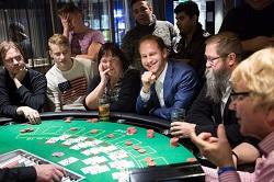 Players at Blackjack Table